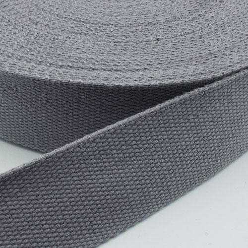 gurtband baumwolle grau 25mm online kaufen. Black Bedroom Furniture Sets. Home Design Ideas