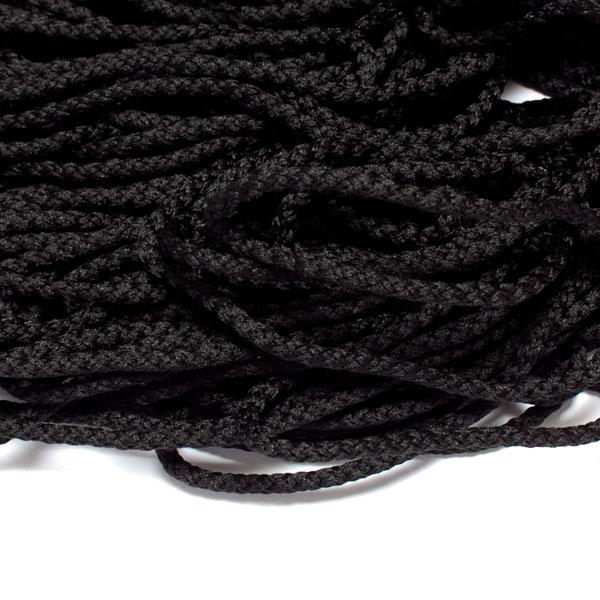 100M schwarze Baumwollschnur 2 MM schwarze Schnur zum Verpacken//Verpacken oder G/ärtnern von Geschenken
