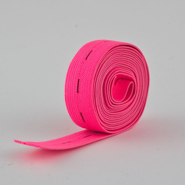 pink 5m  Rolle Gummiband Farbe 25mm breit