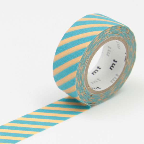 3m flocky tape mt fab 15mm stripe cream mint online kaufen. Black Bedroom Furniture Sets. Home Design Ideas
