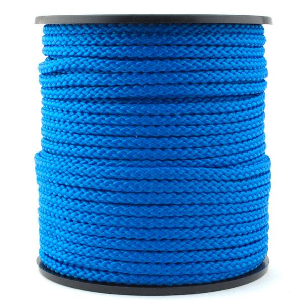 50m polypropylen kordel 4mm blau online kaufen. Black Bedroom Furniture Sets. Home Design Ideas