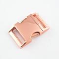 Alu-Max Schnellverschluss 30mm rosegold gebogen