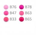 20 BabySnap Druckknöpfe T5 pink B63