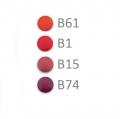20 BabySnap Druckknöpfe T5 rot B1