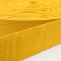 Baumwoll-Gurtband gelb 30mm