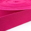 Baumwoll-Gurtband pink 30mm