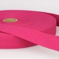 Gurtband Baumwolle pink 25mm
