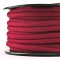 Baumwollkordel 7mm Meterware bordeaux