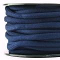 Baumwollkordel 7mm Meterware dunkelblau