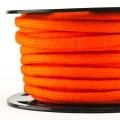 Baumwollkordel 7mm Meterware orange