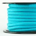 Baumwollkordel 7mm Meterware türkis