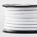 Baumwollkordel 7mm Meterware weiß