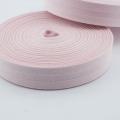 Schrägband rosa aus Baumwolle 20mm
