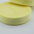 Schrägband gelb aus Baumwolle 20mm