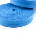 Schrägband petrol aus Baumwolle 20mm