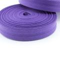 Schrägband lila aus Baumwolle 20mm