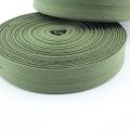 Schrägband oliv aus Baumwolle 20mm