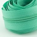 5 Meter Endlosreißverschluss aqua grün 3mm