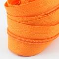 5 Meter Endlosreißverschluss orange 3mm