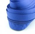5 Meter Endlosreißverschluss blau 5mm