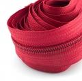 5 Meter Endlosreißverschluss rot 5mm