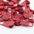 10 Stück Reißverschlussschieber rot 8mm
