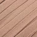 Flachkordel Hoodiekordel beige 20mm Baumwolle