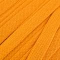 Flachkordel Hoodiekordel gelb 20mm Baumwolle