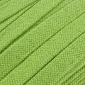 Flachkordel Hoodiekordel hellgrün 20mm Baumwolle
