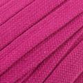 Flachkordel Hoodiekordel pink 20mm Baumwolle