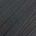 Flachkordel Hoodiekordel schwarz 20mm Baumwolle