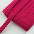 Flachkordel pink 15mm Baumwolle