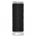 Gütermann Allesnäher 200m schwarz Farbe 000