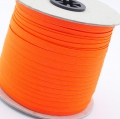 100m Gummiband 7mm neon orange