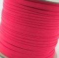 5m Gummiband 7mm neon pink