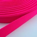 Gummiband neon pink 20mm