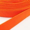 Gummiband orange 20mm