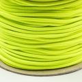 Gummikordel 3mm neon gelb