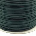 Gummikordel 3mm dunkelgrün