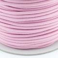 Gummikordel 3mm rosa