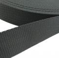 Hochwertiges Gurtband dunkelgrau 30mm