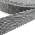 Hochwertiges Gurtband grau 20mm