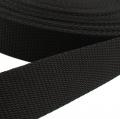 Hochwertiges Gurtband schwarz 50mm