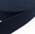 Gurtband Baumwolle nachtblau 25mm