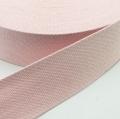 Gurtband Baumwolle rosa 30mm