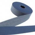Gürtelband blau 40mm gemustert