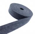 Gürtelband Jeansoptik 30mm dunkelgrau