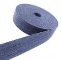 Gürtelband Jeansoptik 30mm blau