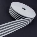 Taschengurt Gürtelband weiß grau