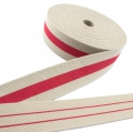 Taschengurt Gürtelband beige rot